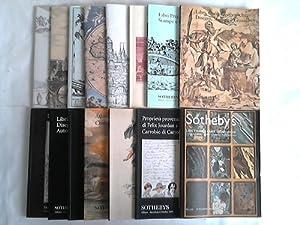 Sammlung von 15 Katalogen: Sotheby's Milano (Hrsg.)