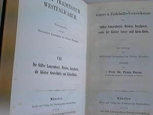 Güter-u. Einkünfte-Verzeichnisse der Stifter Langenhorst, Metelen, Borghorst,: Westfalen - Darpe,