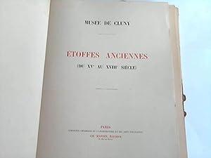 Musee de Cluna. Ètoffes Anciennes (du XI au XVIII Siecle): Massin, Ch. (Hrsg.)