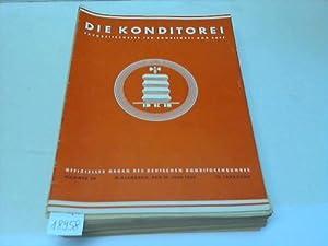 Offizielles Organ des Deutschen Konditorenbundes: Konditorei, Die