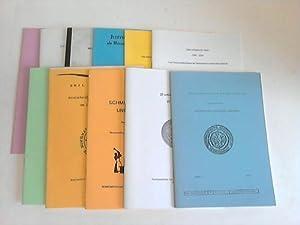 Sammlung von 11 Heften: Numismatische Gesellschaft Schweinfurt