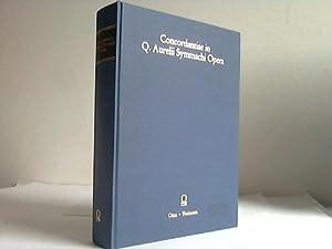 Concordantiae in Q. Aurelii Symmachi opera = A concordance to Symmachus: Lomanto, Valeria