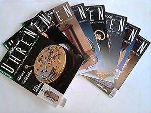 Journal für Sammler klassischer Zeitmesser. Jahrgang 1995 in 6 Heften (komplett): Uhren - ...