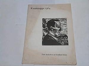 Kunstmappe 1964. Zum Andenken an Gottfried Klaus: Genossenschafts-Druckerei / Olten (Hrsg.)