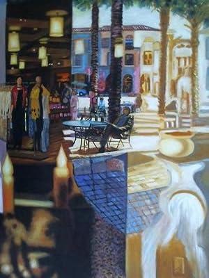 1 Collage: Verschiedene Stadtszenerien - Öl auf Leinwand: Dobe, Hans (1926 Danzig - 2013 ...