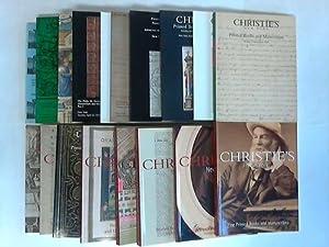 Sammlung von 18 Auktions-Katalogen: Christie's East / Christie's, New York (Hrsg.)