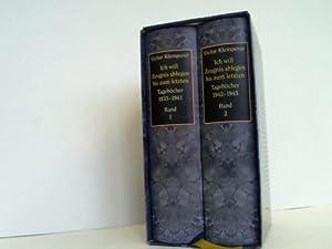 Ich will Zeugnis Ablegen bis zum letzten. Tagebücher 1933-1941 1942-1945 2 Bände: ...