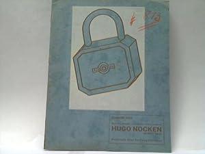 Preisliste über Vorhängeschlösser. Ausgabe 1933: Metallwarenfabrik Hugo Nocken / ...