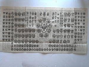 Carte Heraldique Representant Les Armes De L' Empereur Des Electeurs Des Princes Tant ...