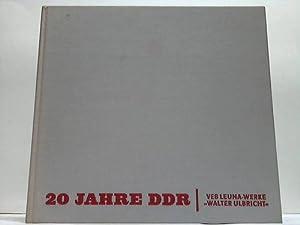 """20 Jahre DDR. Bildband des VEB Leuna-Werke """"Walter Ulbricht"""" anlässlich des 20. ..."""