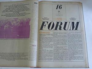 Forum. Zeitung für geistige Probleme der Jugend. 18. Jahrgang 1964. 23 Ausgaben in 1 Band, ...