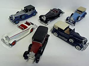 Models of Yesteryear - 6 Oldtimer der Reihe,: Matchbox