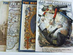 The Map Collector. A quarterly journal lovers of early maps. Jahrgang 1986, 4 Hefte