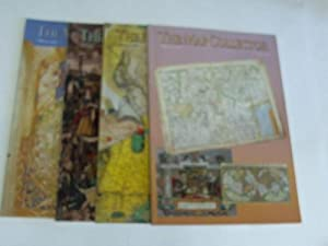 The Map Collector. A quarterly journal lovers of early maps. Jahrgang 1994, 4 Hefte