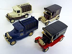 4 Oldtimer: Modell-Autos