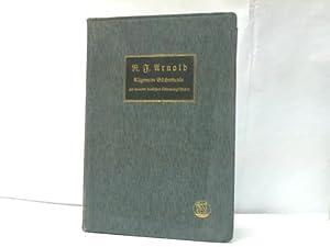 Allgemeine Bücherkunde zur neueren deutschen Literaturgeschichte: Arnold, Robert F.