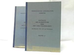 Katalog des Schrifttums über Ost- und Westpreussen. Berichtsjahre 1958 - 1979 mit Nachträ...