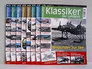 Jahrgang 2013, Ausgabe 1 bis 8: Klassiker der Luftfahrt