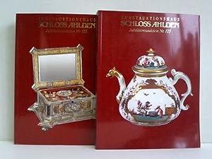 2 Kataloge (1. und 2. Teil) zur: Kunstauktionshaus Schloss Ahlden