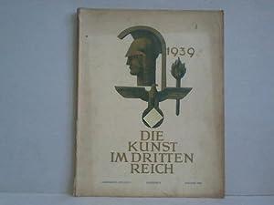 3. Jahrgang, Folge 8 / August 1939: Die Kunst im Dritten Reich