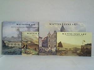 Wattis Fine Art. 4 Hefte: Wattis, Jonathan & Vicky (Hrsg.)