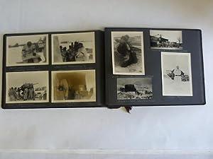 93 Aufnahmen mit handschriftlichen Untertiteln: Wehrmachtsfotoalbum