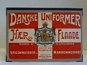 Danske Uniformer fra Haer og Flaade. Udgivet: Christiansen, R. S.