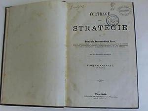 Vorträge über Strategie: Leer, Heinrich Antonowitsch