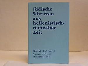 Poetische Schriften: Oegema, Gebern S.