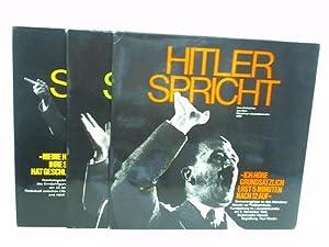 3 Langspielplatten: Hitler spricht