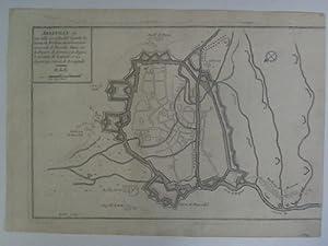Une Ville Considerable Capital du Comté de Ponthieu du Gouvernem. Generale de Picardie Situ&...