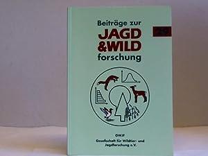 Beiträge zur Jagd- & Wildforschung. Band 29: Gesellschaft für Wildtier- u. Jagdforschung e...