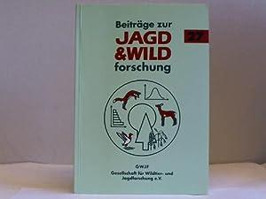 Beiträge zur Jagd- & Wildforschung. Band 27: Gesellschaft für Wildtier- u. Jagdforschung e...
