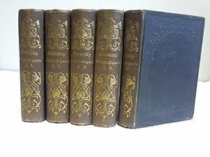 Geschichte Englands seit der Thronbesteigung Jacobs II. 10 Bände in 5 Bänden: Macaulay, ...