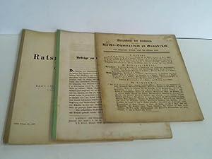 Programm des Ratsgymnasiums zu Osnabrück. Ostern 1902 / Verzeichnis der Lectionen auf dem...