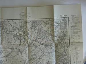 Topographische Karte: Glatz