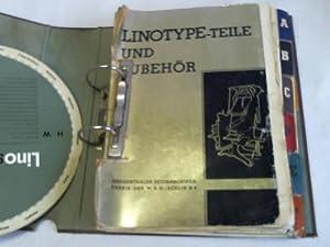 Teile und Zubehör- Katalog: Linotype