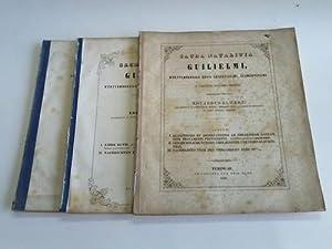 Sacra Natalitia Guilielmi, Württembergiae regis Augustissimi, Clementissimi V. Calendas ...