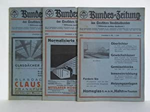 Offizielles Organ des Deutschen Bauschulbundes (Absolventen Deutscher Bauschulen). 3 Hefte: ...