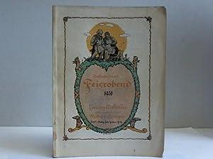 Grofschoftersch Feierobend. Heimatliches Jahrbuch für die Grafschaft Glatz, die schlesischen ...