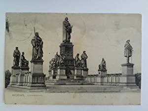 Postkarte: Worms - Lutherdenkmal: Worms