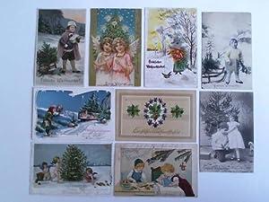 9 Postkarten: Weihnachtsgrüße