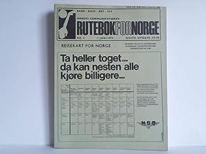 Rutebok for Norge - Norges Communicationer, 107.: Kursbuch - Norwegen)
