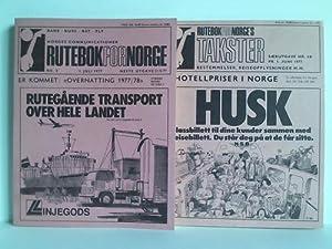 Rutebok for Norge - Norges Communicationer, 109.: Kursbuch - Norwegen)