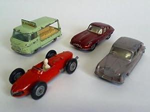 4 verschiedene Modellautos: Lesney