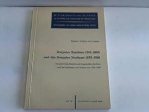 Dorpater Ratslinie 1319 - 1889 und das: Lemm, Robert Arthur