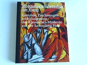 Internationale Sprachen der Kunst. Gemälde, Zeichnungen und: Peters, Ursula (Hrsg.)