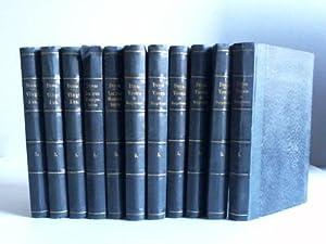 Oeuvres completes d`Alexandre Dumas. 11 Bände der: Dumas, Alexandre