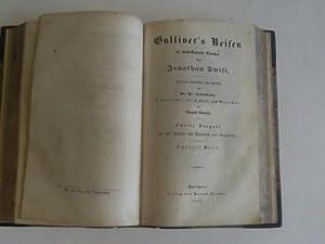 Gulliver`s Reisen in unbekannte Länder. Zweite Ausgabe.: Swift, Jonathan