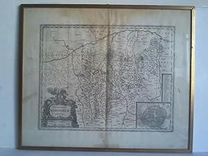 Territorium Norimbergense - Karte im Kupferstich von: Janssonius, Johannes (1588,